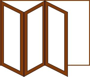 3 doors 1 way
