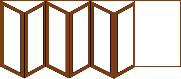 6 doors 1 way