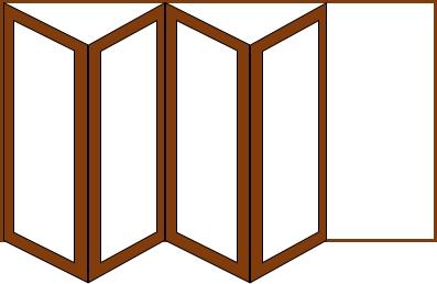 4 doors 1 way