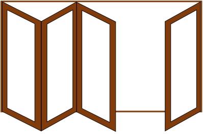 4 doors - 3 and 1