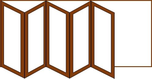 5 doors 1 way