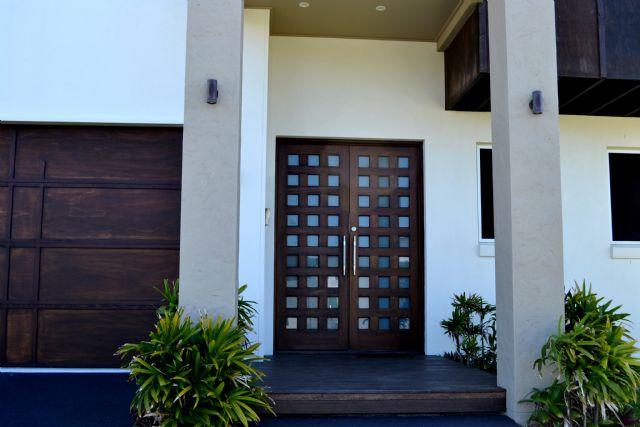 Custom 27 Lite Entrance Doors