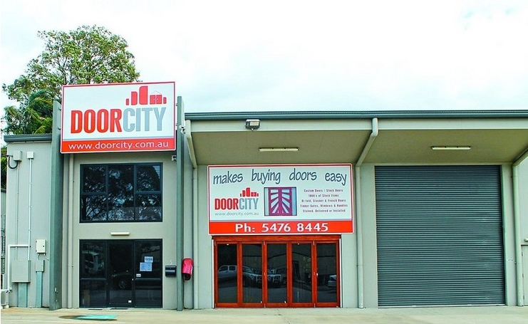 Door City Showroom In Sunshine Coast